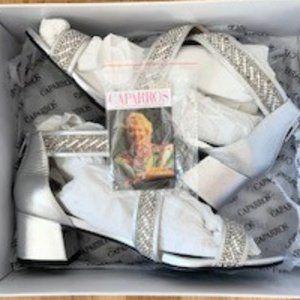 """Caparros Silver Metallic """"Imagine"""" Sandals"""